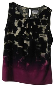 Calvin Klein Top Black/white/fuschia