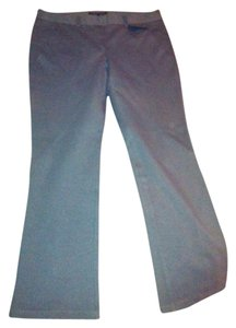 Theory Capri/Cropped Pants Gray