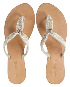 Calypso St. Barth Ivory Sandals