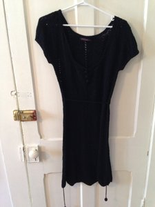 Betsey Johnson short dress Black Knit on Tradesy