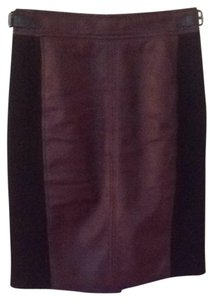 Ann Taylor Skirt Red Wine, Black