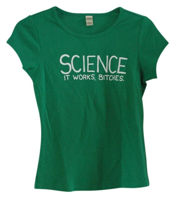 Preload https://img-static.tradesy.com/item/739053/green-science-tee-shirt-size-8-m-0-0-650-650.jpg