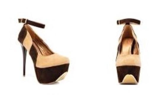 Promise Tan Brown Pumps