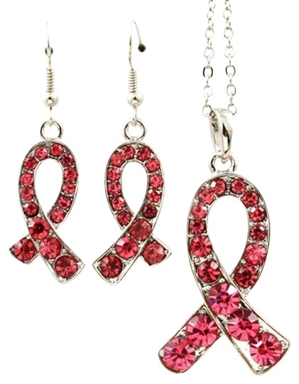 Other pink ribbon breast cancer awareness set
