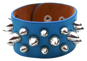 blue studded wrap bracelet