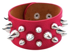 Other fuchsia studded wrap bracelet