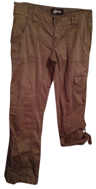 Guess Cargo Pants Khaki Brown Green