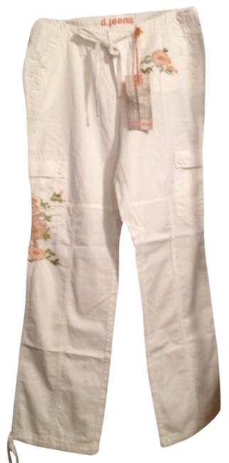 D'Jeans by Donna Degnan Cargo Pants White