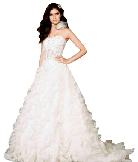 Preload https://item3.tradesy.com/images/coco-anais-white-satin-and-organza-feminine-wedding-dress-size-4-s-739947-0-11.jpg?width=440&height=440