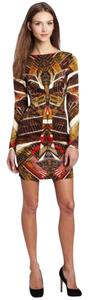 Rampage short dress Brown Fall Print on Tradesy