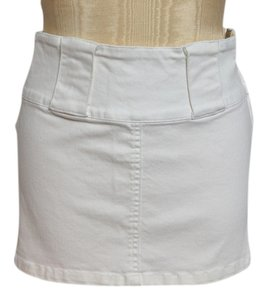 XOXO Mini Skirt White
