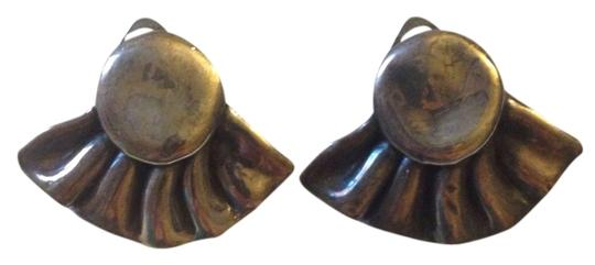 Other Vintage Metal Clip On Earrings