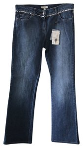Burberry Straight Leg Jeans-Dark Rinse