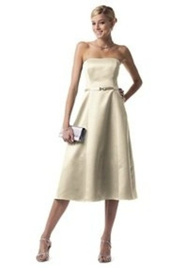 Preload https://item2.tradesy.com/images/david-s-bridal-champagne-satin-8355-bridesmaidmob-dress-size-8-m-74011-0-0.jpg?width=440&height=440