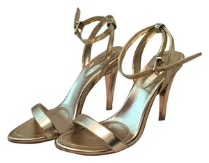 BCBGMAXAZRIA Strappy Heels High Heels Stiletto Gold Sandals