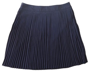 The Limited Skirt Navy with white stripes
