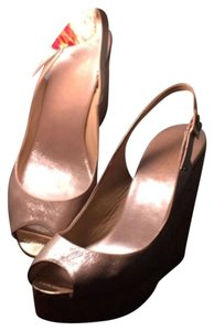 Jimmy Choo Crushed Patent Frappe Wedges