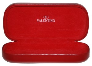 Valentino VALENTINO Red Clam Shell Eye Glass, Sun Glass Case