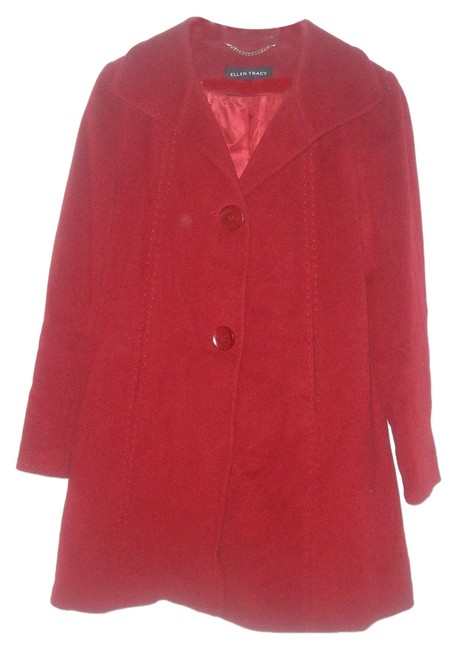 Preload https://img-static.tradesy.com/item/7403992/ellen-tracy-red-75-wool-25-angora-polyester-lined-pea-coat-size-4-s-0-1-650-650.jpg