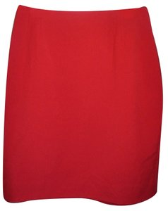 Ellen Tracy Skirt red