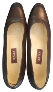 Bally Black/Brown Pumps