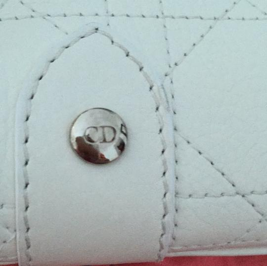 Dior Christian Satchel in White Image 7