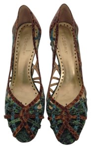 BCBGeneration Teal, green, brown multi Pumps