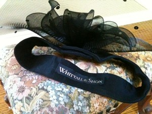 Whitehall and Shon Vintage Mesh Banded Hat
