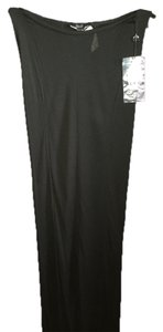 Gucci Vintage Maxi Skirt black