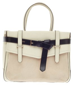 Reed Krakoff Leather Tote in White