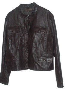 Knowles & Carter Brown Leather Jacket