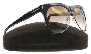 Tom Ford Tom Ford Sunglasses Women Aviator TF 365 Black 01G Leona 59mm Italy