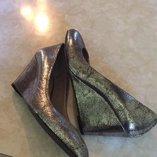 Vince Camuto Silver Wedges Image 2