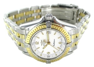 Breitling BREITLING CALLISTINO B52045 WATCH WOMAN WRISTWATCH TWO TONE STEEL GOLD DATE
