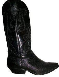 Nine West Coach Womens Leather Designer Louis Vuitton Women Cowboy Cowboy Fashion black Boots