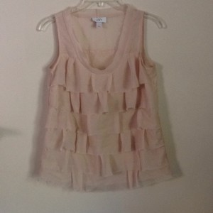 Ann Taylor LOFT Top Light peach