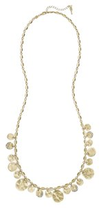 Chloe + Isabel Gold Pave Paillette Necklace