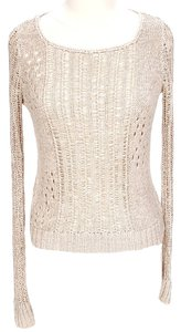 Cynthia Rowley Longsleeve Scoopneck Knit Sweater