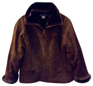 Savannah Brown Leather Jacket
