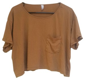 American Apparel T Shirt Copper