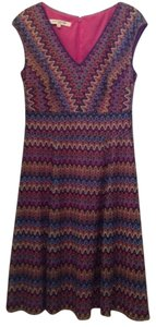 Evan Picone short dress Pink Multi on Tradesy