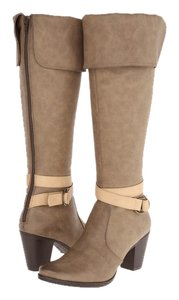 C Label Dark Taupe Boots