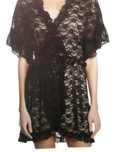 IN BLOOM IN BLOOM NWT BLACK LACE WRAP (SIZE SMALL)