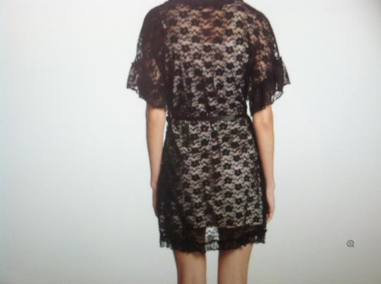 IN BLOOM IN BLOOM NWT BLACK LACE WRAP (SIZE SMALL) Image 1