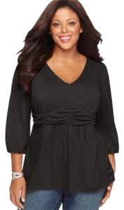 NY Collection Top Black