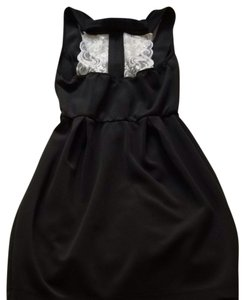 Lovely Day short dress Black on Tradesy