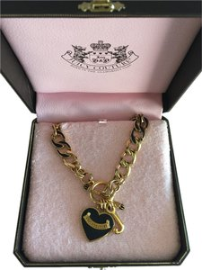 Juicy Couture Juicy Couture Black/Gold Necklace