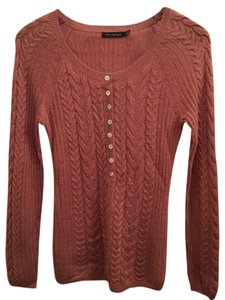 The Limited Soft Henley Knitted Feminine Sweater