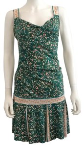 Diane von Furstenberg short dress Floral print on Tradesy