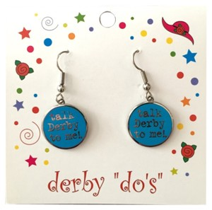 Bluemoon Artworks Derby Cute Horse Earrings